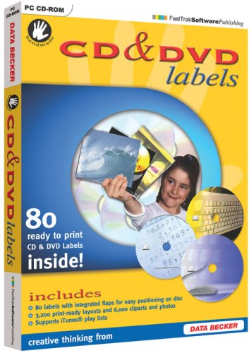 Hand Made CD and DVD Labels (PC) (Cd-label-software)