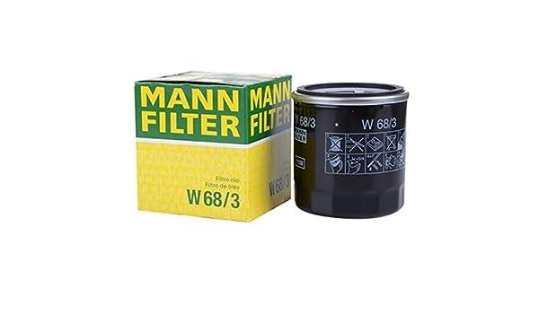 MANN OIL FILTER W68//3 Corolla