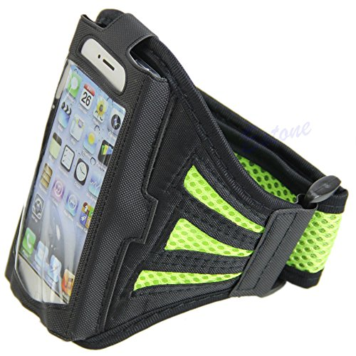 Original Apple iPhone 6 plus 13.97 cm (grün) Premier Sport Jogging Armband-Schutzhülle für Arm Apple iPhone 6 plus (13.97 cm) (Iphone6 Arm)