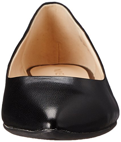 Nine West Onlee Leather Ballet Flat Black