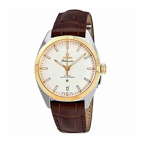 Omega Constellation Silver Dial Brown Leather Automatic Mens Watch 130.23.39.21.02.001