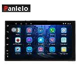 Panlelo S4 MAX Android 8.1 Car Stereo Octa Core 4 GB RAM 32 GB Navigazione GPS AM FM RDS Autoradio 1 Din 7 pollici 1080P Video BT SWC