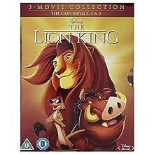 The Lion King 1-3 Boxset [Blu-Ray] [Import]