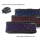 Sumvision LED Gaming Keyboard and Mouse Kane Pro...