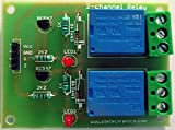 #10: OL ELECTRONICS 2 CH 12V RELAY BOARD MODULE for RASPBERRY PI ARDUINO AVR PIC 8051