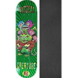 "Creature Skateboards Chris Russell Weirdos Skateboard Deck - 8.375"" X 32"" With Black Magic Griptape - Bundle Of 2 Items"