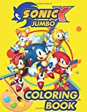 Sonic JUMBO Coloring Book: Exclusive 63 Illustrations