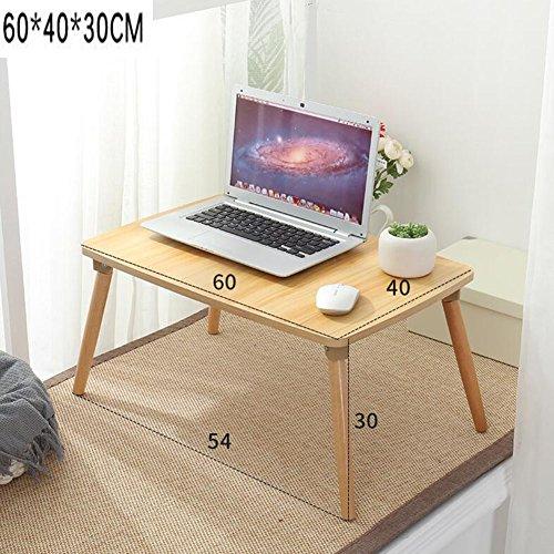 NYDZ Schreibtisch-Computer-Tisch-großes Bett-Behälter-faltbares Stand-glattes Frühstücks-Umhüllungs-Unterstützungs-Lesebuch-Vielseitigkeit (Farbe : B, größe : 70 * 40 * 30cm) -