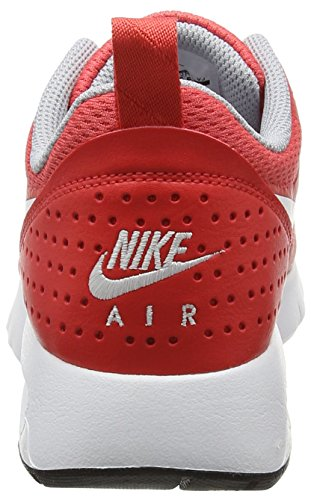 Nike Air Max Tavas Bg, Baskets Mixte Enfant Rouge (Track Red/white-wolf Grey Black)
