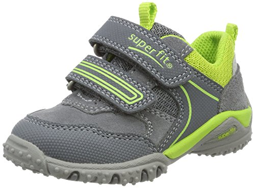 Superfit Baby Jungen SPORT4 Mini Sneaker, Grau (Smoke Kombi), 29 EU