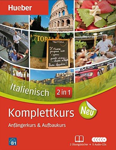 Komplettkurs Italienisch Neu: Paket: 2 Übungsbücher + 5 Audio-CDs (Komplettkurs Neu)