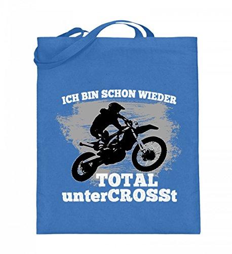 Iuta Qualità (con Manici Lunghi) - Camicia Di Motocross · Abbigliamento Moto · Idee Regalo Per Gli Appassionati Di Sport Enduro Dirtbike · Motivo / Diritto Blu