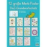12 große Merk-Poster DaZ-Grundwortschatz