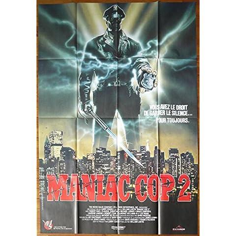Cop 2-1990 Maniac-William Lusting, 116 x 158 cm-Cinema Poster Originale
