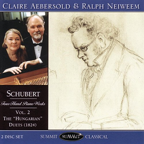 Schubert Four-Hand Piano Works Vol. 2