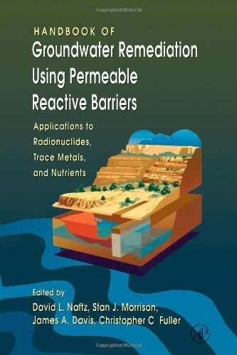 Handbook of Groundwater Remediation using Permeable Reactive Barriers: Applications to Radionuclides, Trace Metals, and Nutrients (2002-10-07)