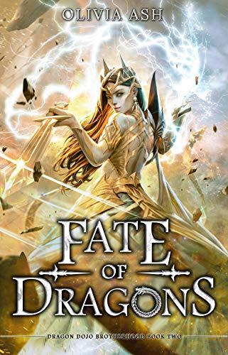 Fate of Dragons: a reverse harem dragon fantasy romance adventure series (Dragon Dojo Brotherhood Book 2) (English Edition)