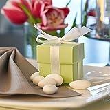 EinsSein Schokoherzen MIX 1kg weiß-rosa gl. Gastgeschenke Hochzeitsmandeln Dragees - 7