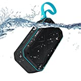 Bluetooth Lautsprecher, ELEGIANT IPX7 Wasserdicht 5W Lautsprecher Tragbare kabellose Boxen wireless Stereo Speaker Boombox mit Reinem Bass 2000 mAH 12 Stunden Engebautem Mikrofon in Dusche Badezimmer Pool Outdoor Sport Indoor Party für iPhone XS XR X 8/ 8 plus Samsung S9 S8 Huawei mate 10 P10 LG Smartphone Tablets Laptop PC