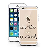 iPhone Cover di licaso® per il Apple iPhone 5 & 5S SE di TPU Silicone LeviOsa not LeviosA Harry Potter Modello molto sottile protegge il tuo iPhone 5 & 5S con stile Cover e Bumper