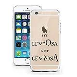 iPhone Cover di licaso per il Apple iPhone 5 & 5S SE di TPU Silicone LeviOsa not LeviosA Harry Potter Modello molto sottile protegge il tuo iPhone 5 & 5S con stile Cover e Bumper