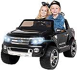 Actionbikes Motors Kinder Elektroauto Ford Ranger - Allrad 4x4 - Touchscreen - 2 Sitzer - 4 x 45 Watt Motor- 2,4 Ghz Rc Fernbedienung - Elektro Auto für Kinder ab 3 Jahre (Allrad Pink)