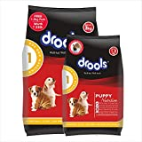 Drools Chicken and Egg Puppy Dog Food, 3 kg with Free 1.2 kg