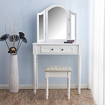 MY-Furniture - Mirrored Bedroom furniture-Triple Folding ...
