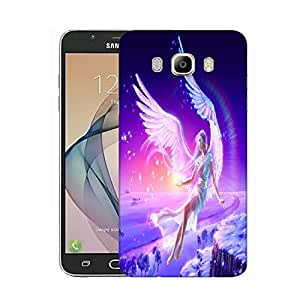 Snoogg Angels Fantasy Designer Protective Phone Back Case Cover For Samsung Galaxy On8