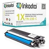 Toner Inkadoo Kompatibel für Brother HL 3040CN, MFC 9120CN, MFC 9320CW, DCP 9010CN, HL 3070CW, ersetzt TN-230 C Cyan 1.400 Seiten