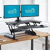 VARIDESK Pro Plus 36 Stehtisch, höhenverstellbar, Schwarz