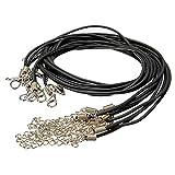 Generic dyhp-a10-code-5800-class-1–Verschluss für DIY Halskette FT Seil Hummer für D 10x 2mm Rund Craft Seil L PU Leder Leat Kordel M rund–-nv _ 1001005800-hp10-uk _ 2320