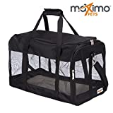 Maximo Pets - Soft Sided, Collapsible Pet Carrier - Comfortable & Spacious - REDUCED due to new 2018 model - Suitable for Cats, Kittens, Puppies, Small Dogs, Rabbits.