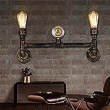 BOOTU lámpara LED y luces de pared Loft industrial air-bar restaurante y bar carretera corredor Hyun off café retro lámpara de pared de la tubería