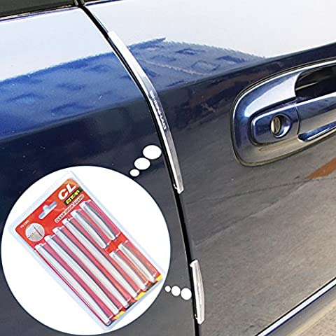 RGTOPONE 8 Pièces Auto Porte Bord Protecteur Transparent Silicone Pare-Chocs De Voiture Anti-Rayures Moulage Protection