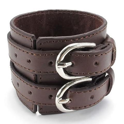 KONOV Bijoux Bracelet Homme - Convient pour la circonférence de