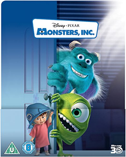 Image of Monsters, Inc. 3D (Includes 2D Version) - Limited Lenticular Edition Steelbook Blu-ray