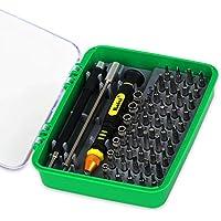 Homeself 51 in 1 di cacciaviti professionali versatili, con chiusura magnetica e Electronics-Kit di riparazione per cellulari, fotocamere, orologi, piccoli e grandi elettrodomestici