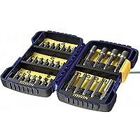 Elite elección Irwin Pro-Series 30piezas Taladro y juego de puntas para destornillador en Pro Case [Multi Set]–Min 3yr Garantía