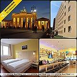 Reiseschein Vale de Viaje - 3 días de Vacaciones Cortas en Berlín en el Centro de A&O Berlín - Vale para Hotel de Viaje Corto de Vacaciones Regalo de Viaje