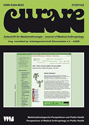 Curare 37 (2014) 02. Zeitschrift für Medizinethnologie - Journal of Medical Anthropology: Medizinethnologische Perspektiven und Public Health - Perspectives of Medical Antropology on Public Health