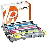 Bubprint 4 Toner kompatibel für Brother TN-241 TN-245 black cyan magenta yellow Brother DCP-9020 CDW HL-3170 CDW MFC-9330 CDW 9340 CDW 9130 CW 9140 CDN