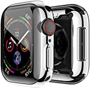 Ultra-Slim Plating TPU Protective Bumper Case Cover For Apple Watch Series 4 40M