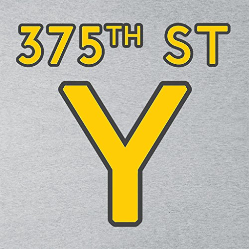 375th Street Y Royal Tenenbaums Women's Sweatshirt Heather Grey