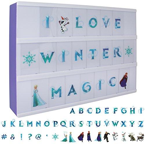 Disney Frozen Leuchtbox A4 - gestaltbare Lichtbox - Leuchtkasten