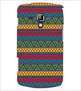 PrintDhaba Pattern D-5250 Back Case Cover for SAMSUNG GALAXY S DUOS S7562 (Multi-Coloured)