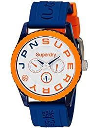 Superdry Analog White Dial Men's Watch-SYG170UO