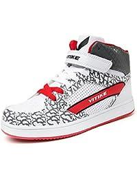 Garçons Filles Sneakers Basket Chaussure Scolaire l'école pour Garçon et Fille Enfant,Chaussure de Course Sport Walking Shoes Running Compétition Entraînement Chaussure à la Mode