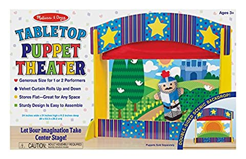 Melissa & Doug Tabletop Puppet Theater by Melissa & Doug