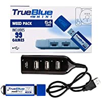 12che True Blue Mini Weed Pack for Playstation Classic - 64GB + 99 Games